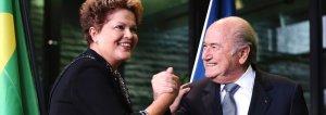 Dilma und Blatter