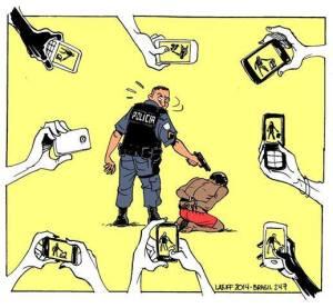die wahre Waffe gegen die Polizei