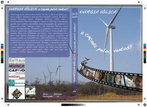 Encarte DVD - Energia Eólica