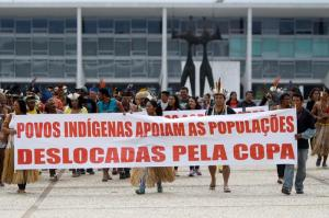 Indigenous protest delays in lands demarcations in Brazil