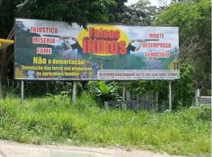 Outdoor contra os Tupinambás no sul da Bahia