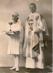 Pater Alfred nach seiner Ordination