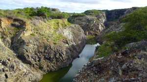 verschmutztes Trinkwasser der Gemeinde Santo Antonio, Campo Formoso