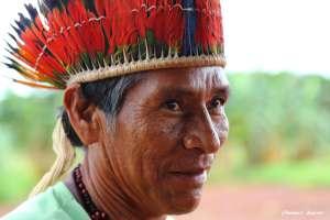 Guarani-Kaiowá Häuptling Bonifácio